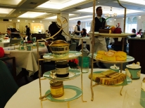 High tea at Fornum & Mason's