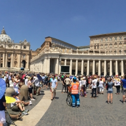 Vatican City crowds