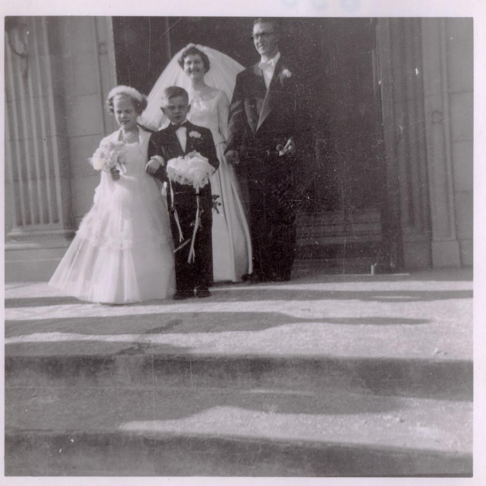 Original photo from Ida's wedding.